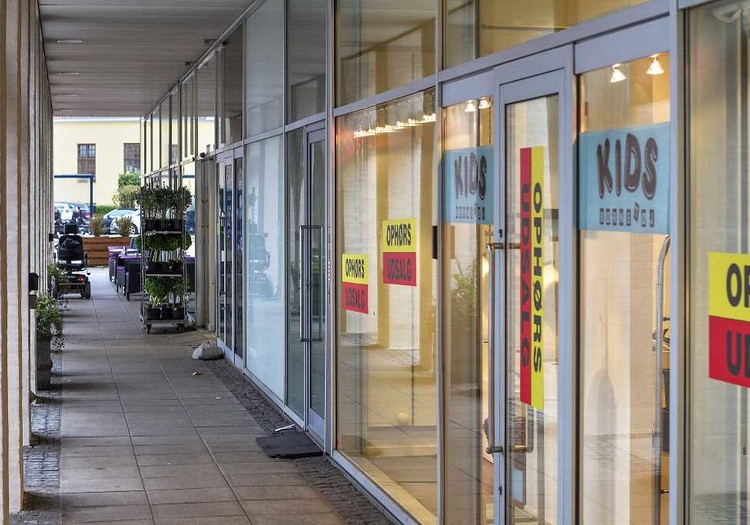 Butik i Hellerup