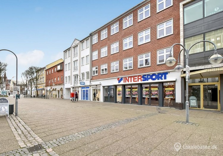 Danmarks femte størsteby har stærkt butiksliv